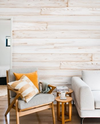 White Distressed Spruce Panelling