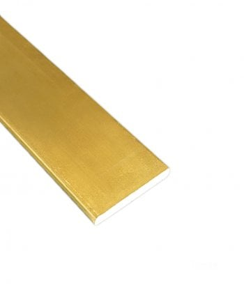 Brass Flat Bar 19mm